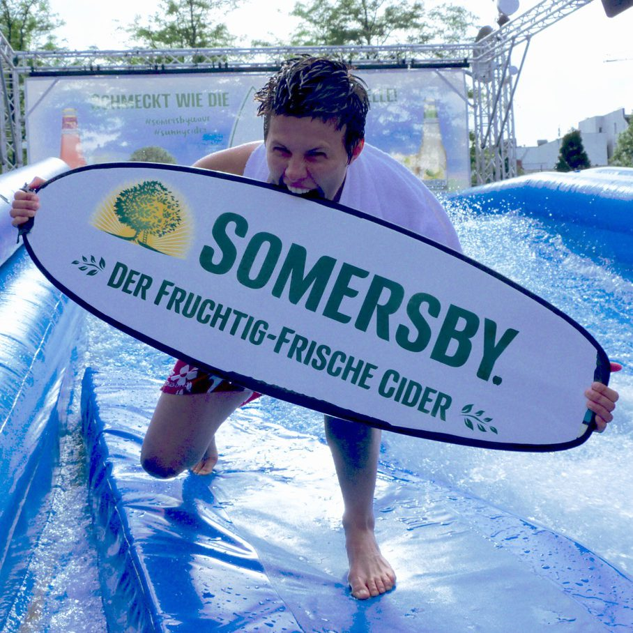 Biss ins Summersby Wakeboard