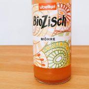 Flasche BioZisch Möhre - Produkttests Portfolio Diana Huth